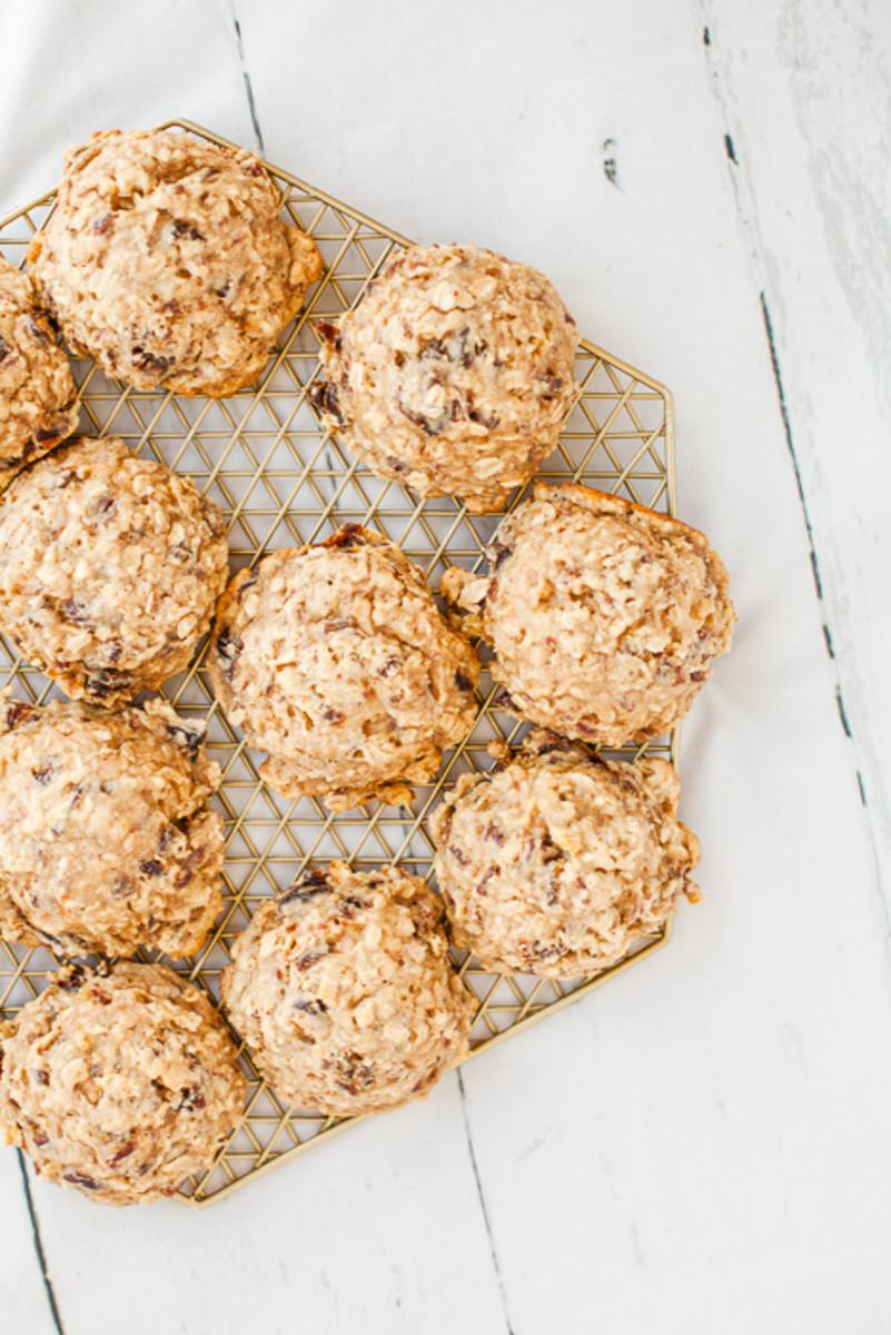 Oatmeal Date Cookies-3