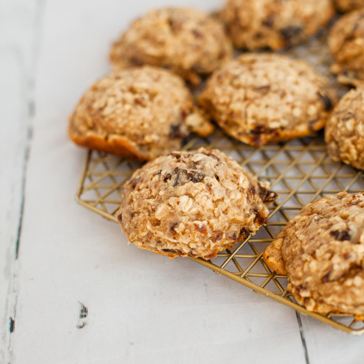 Oatmeal Date Cookies-2