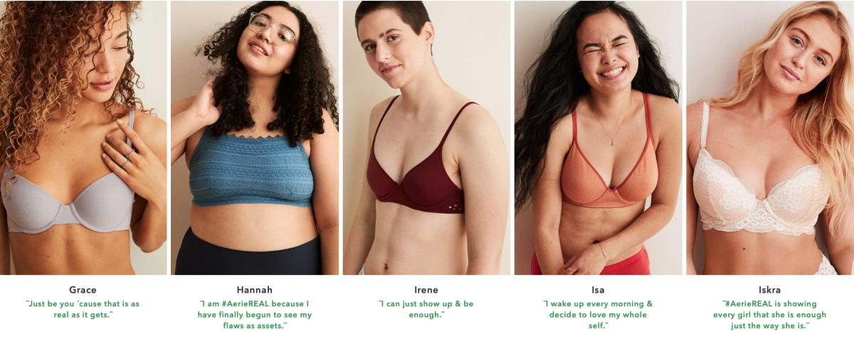 Way to be, #aerieREAL!