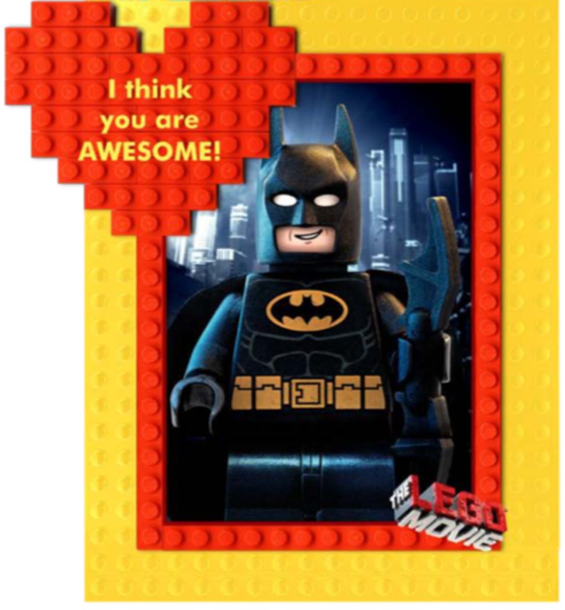 Lego Batman Valentine