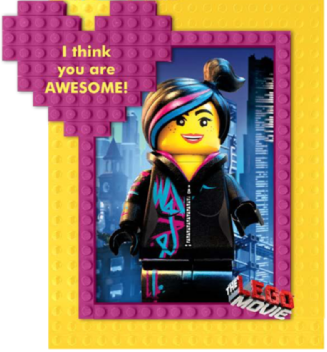 Lego Movie Printable Valentine