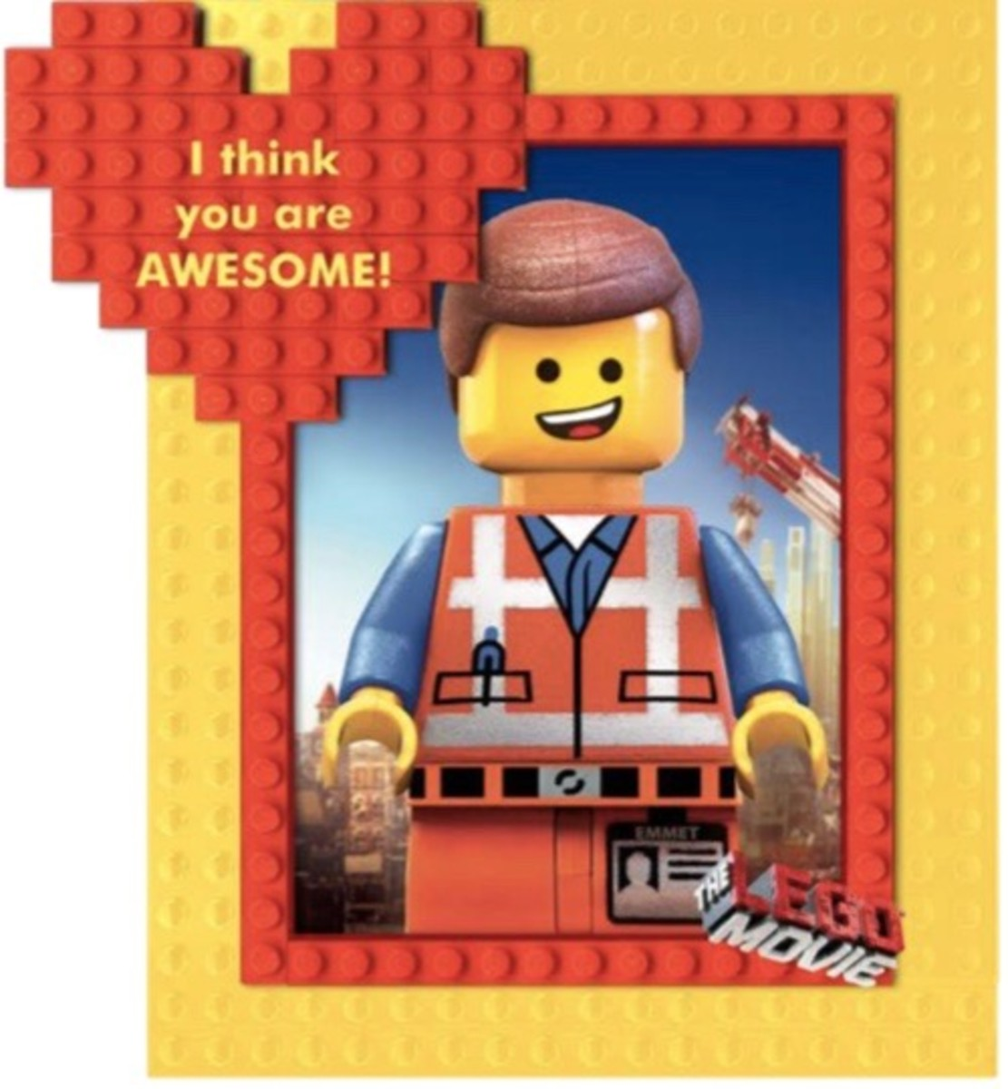 Valentine Lego Movie