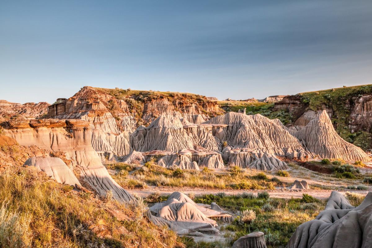 Alberta Badlands of Dinosaur Provincial Park