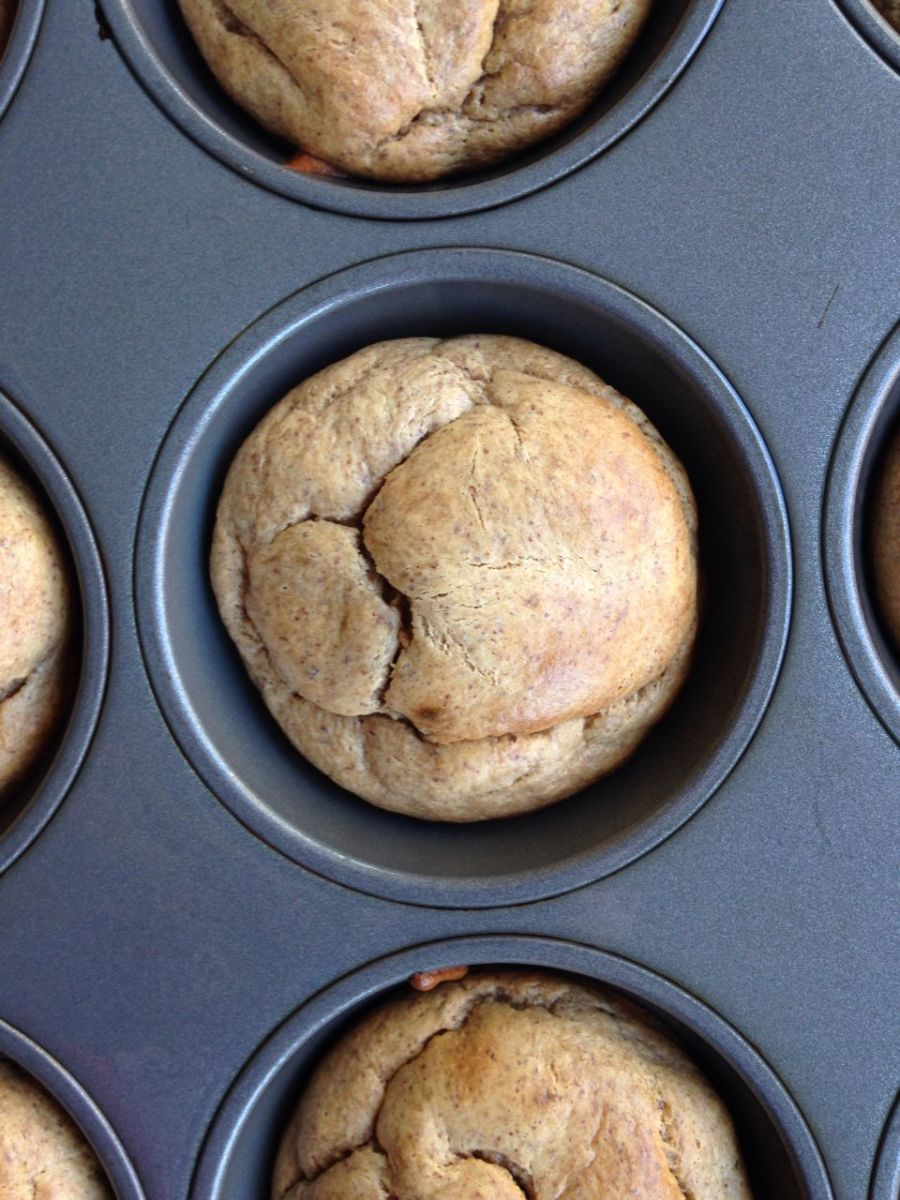 Homemade Almond Butter Banana Muffins
