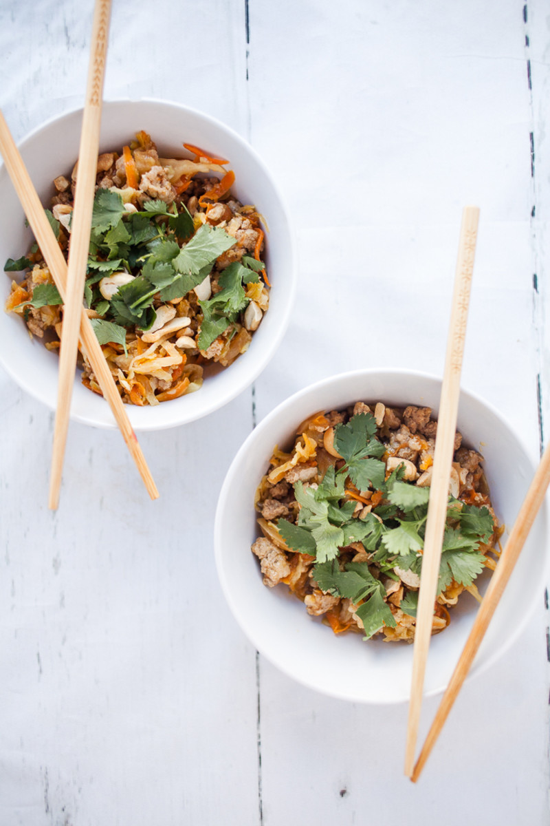 Whole 30 Egg Roll in a Bowl Recipe-3