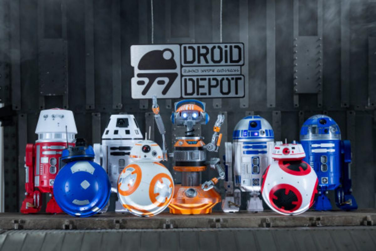 Disneyland's Droid Depot