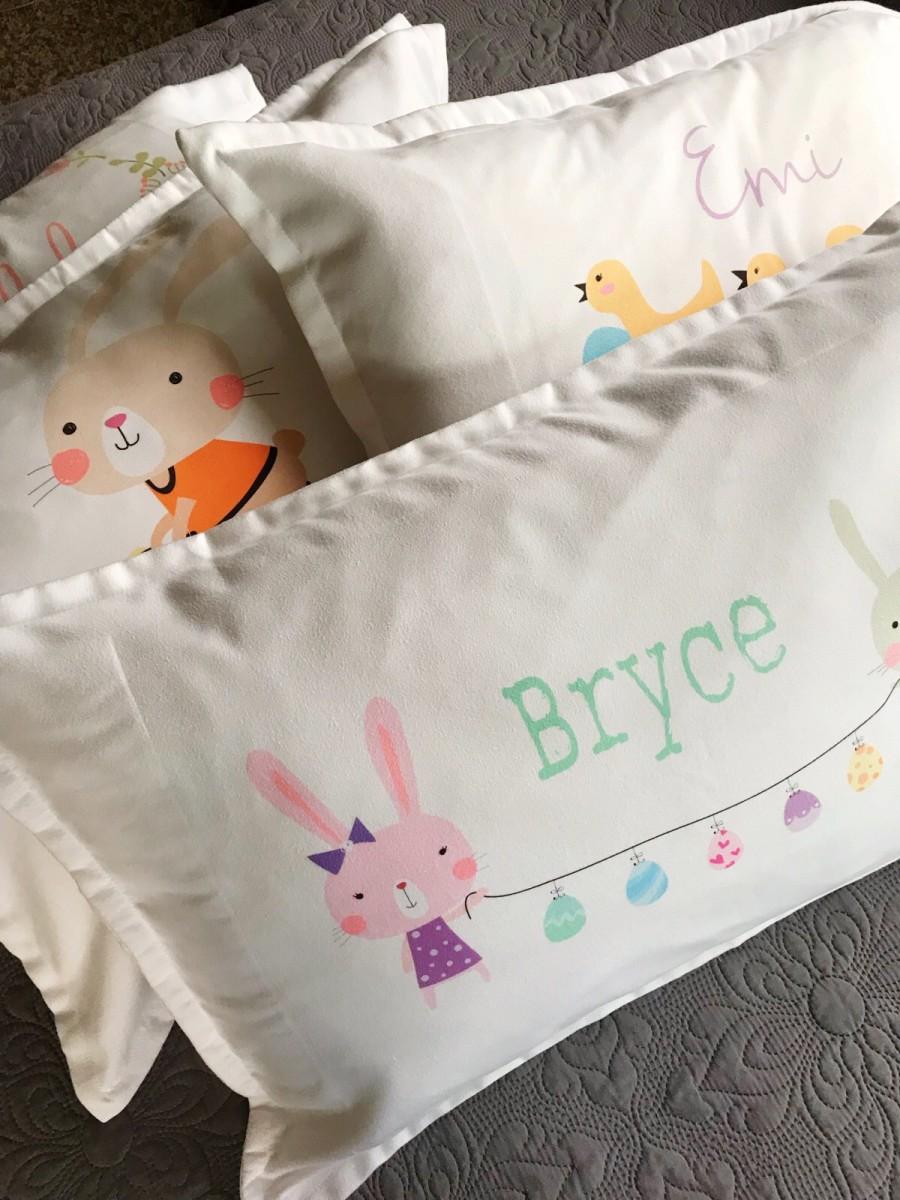 Kids Easter Gifts Custom Pillowcase