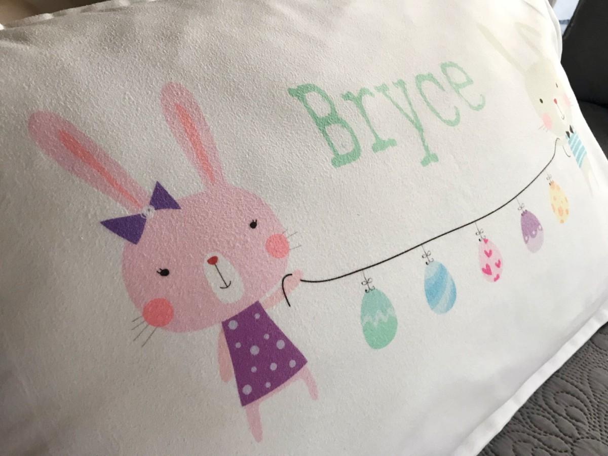 Personalized Easter Basket Filler Easter Egg Garland Bunnies