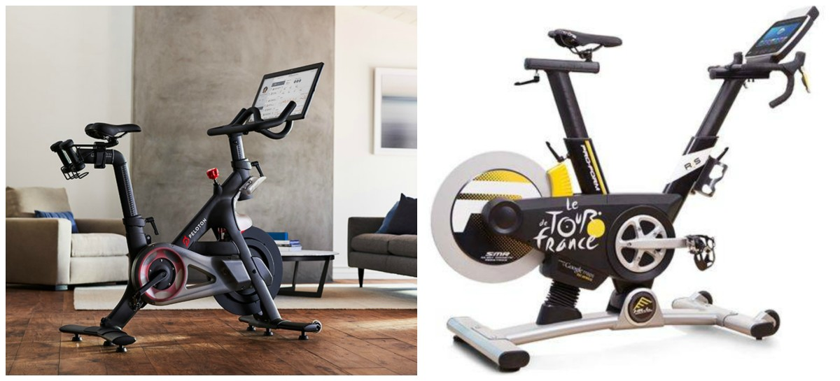 Peloton Bike Proform Bike Side by Side Review