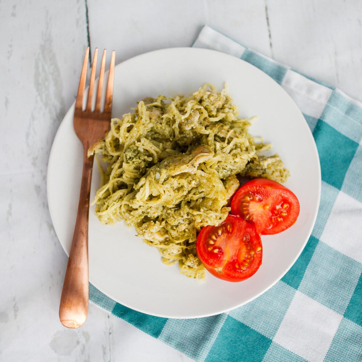 Spaghetti Squash Whole 30 Dinner