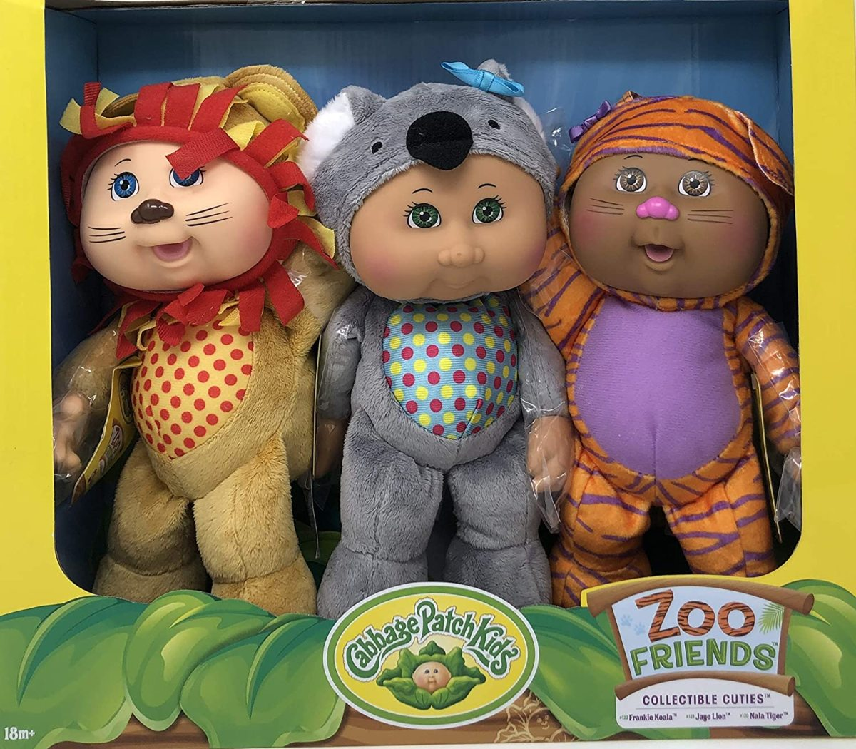 Cabbage Patch Kids Collectible Cuties Zoo Friends