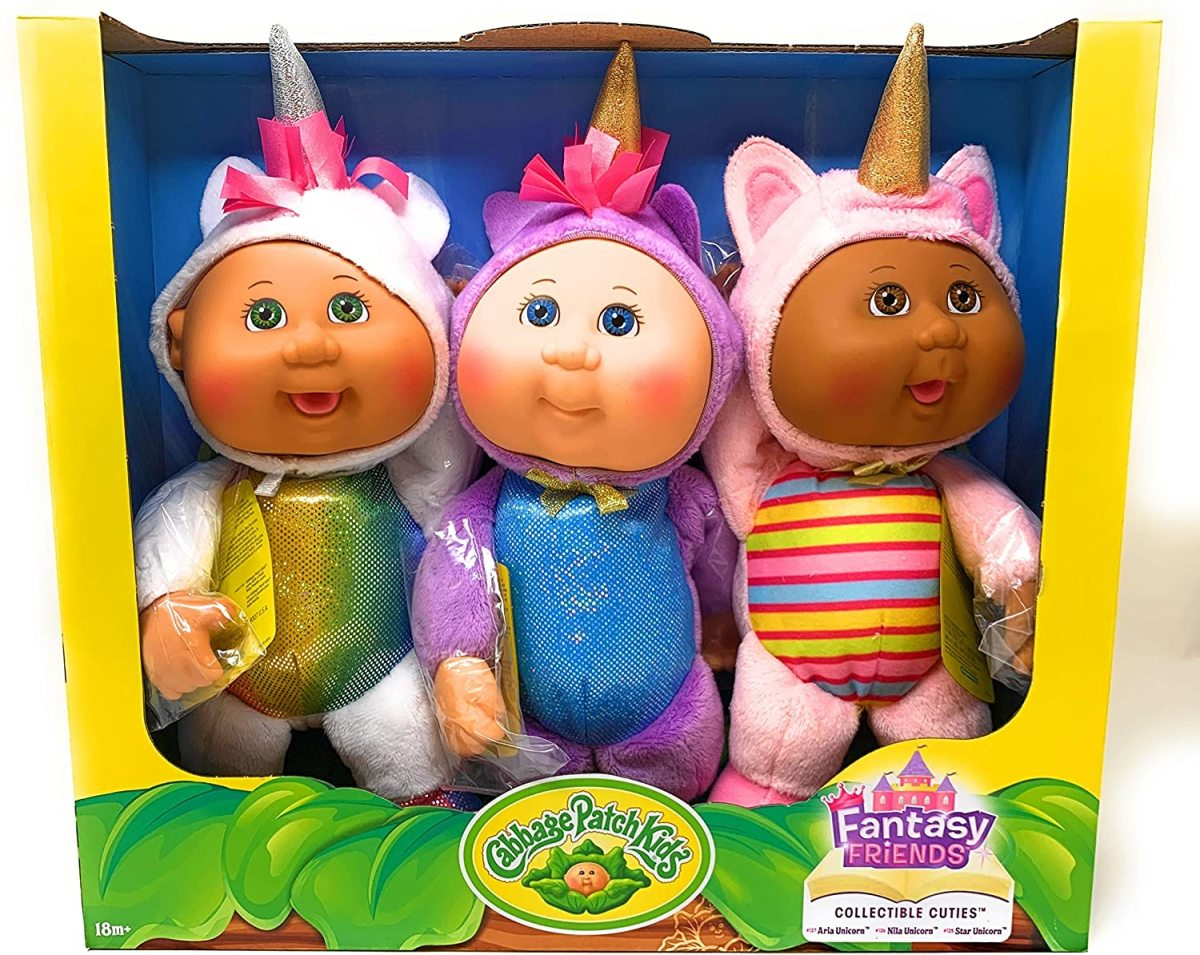 Cabbage Patch Kids Collectible Cuties Fantasy Friends Unicorns