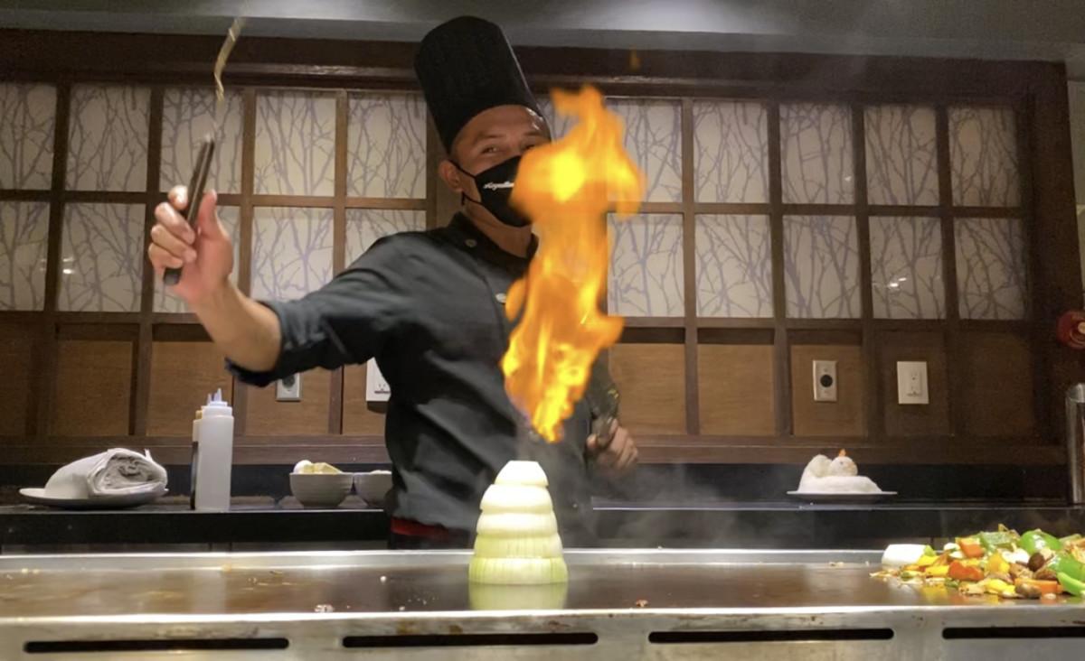 Royalton Riviera Hibachi Chef