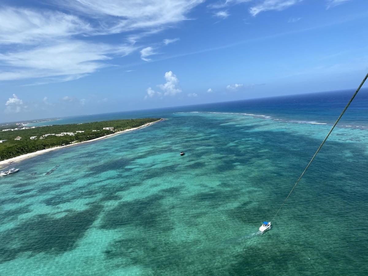 parasailing moroma beach mexico