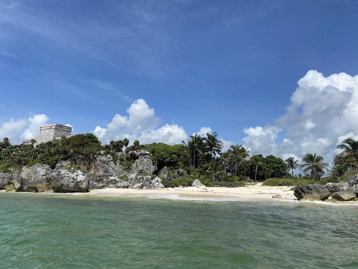 Cancun Mexico during coronavirus Mayan ruins