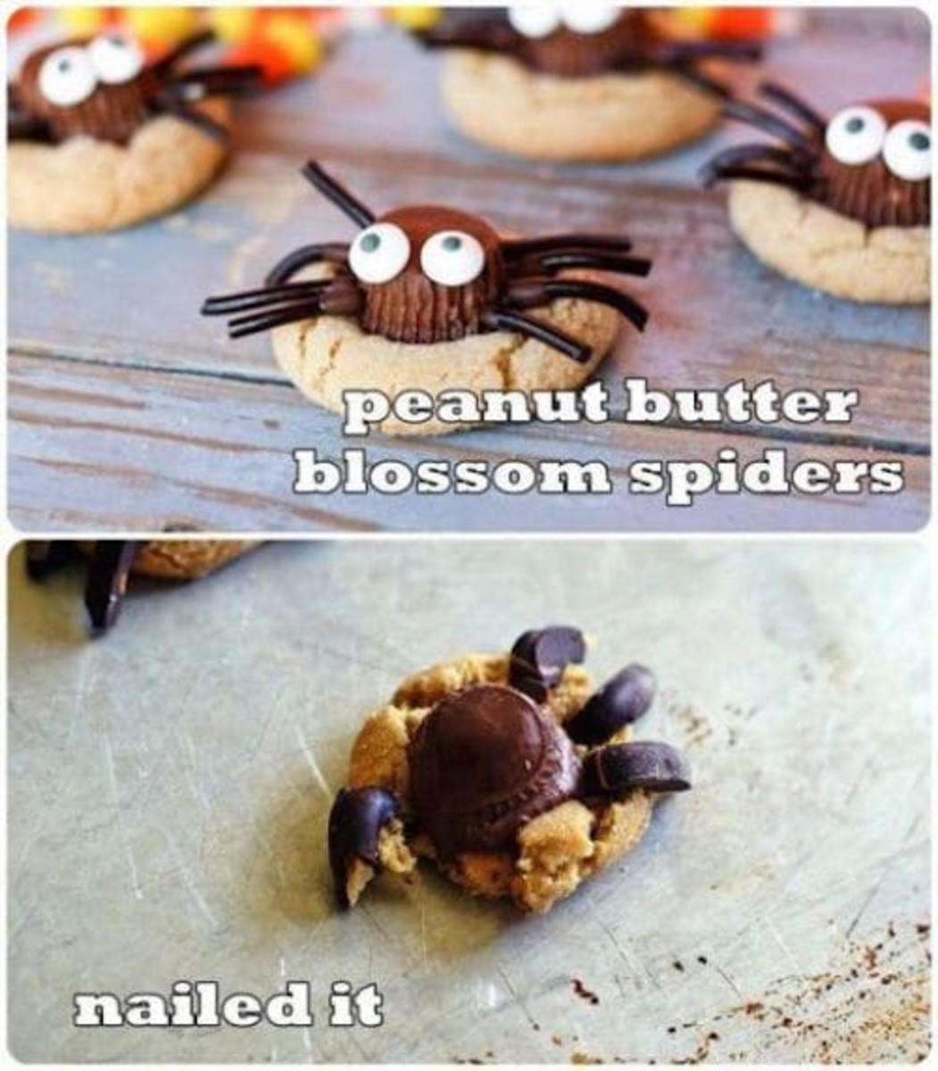 Halloween Pinterest Food Fails