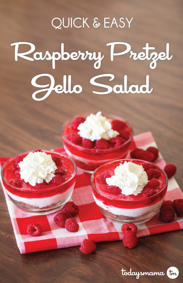 raspberry pretzel jello salad