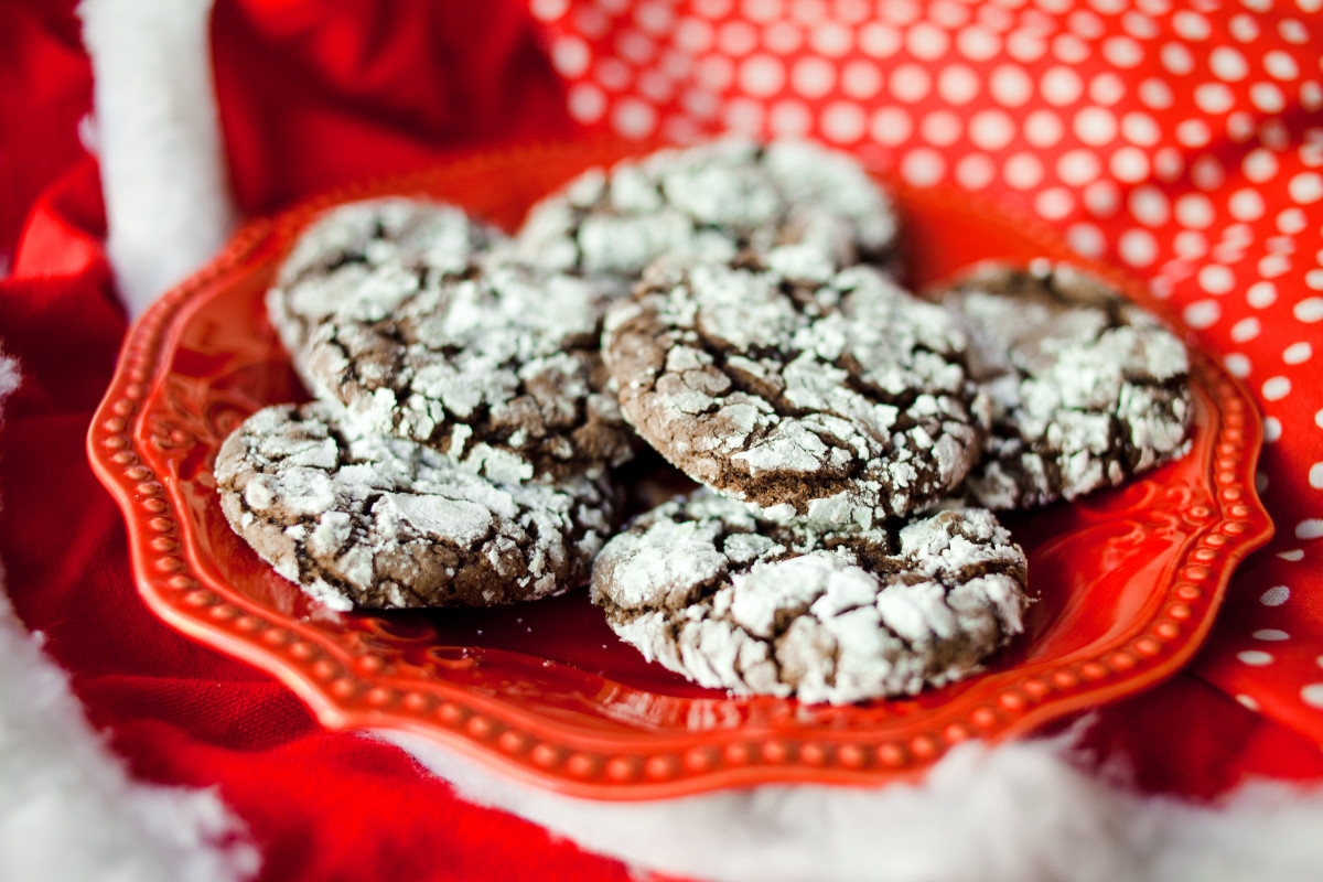 chocolate crinkle cake mix cookie recipe
