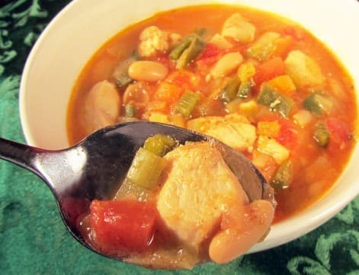 Chicken Leek And White Bean Chili