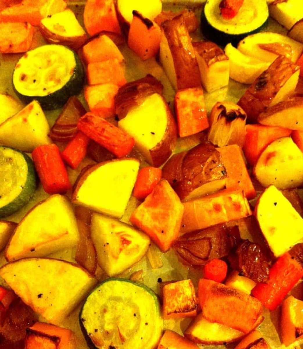 Easy Roasted Vegetables Recipe