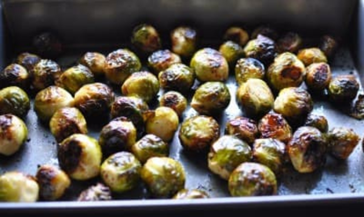 Roasted Maple Dijon Brussel Sprouts recipe