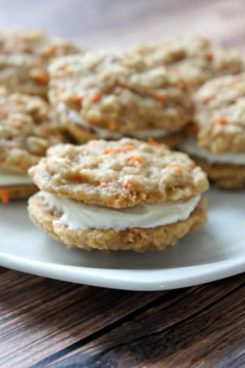 carrot cake sandwich cookie recipe