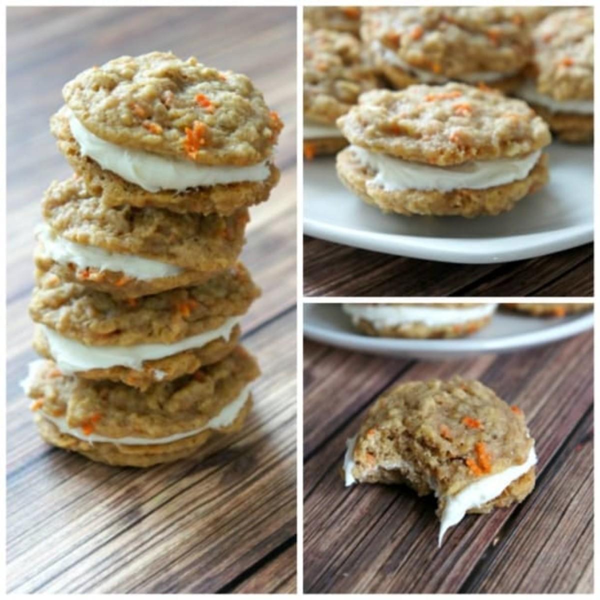 best carrot cake sandwich cookie