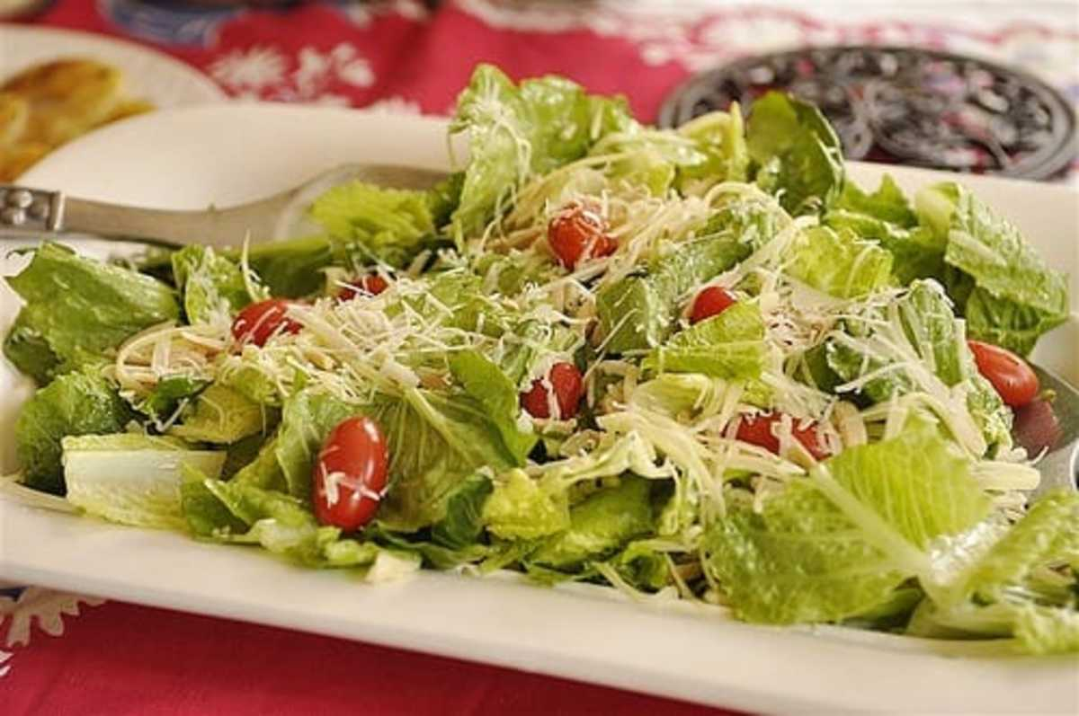 christmas dinner salad