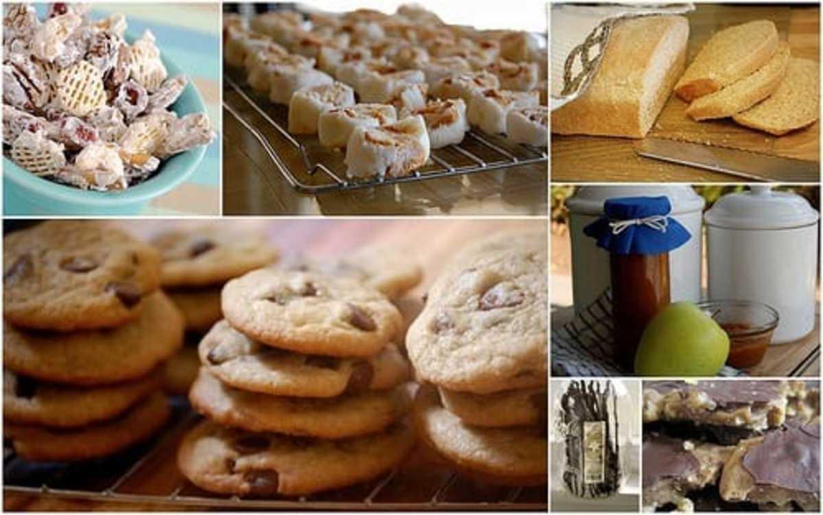 Creative Christmas Food Gifting