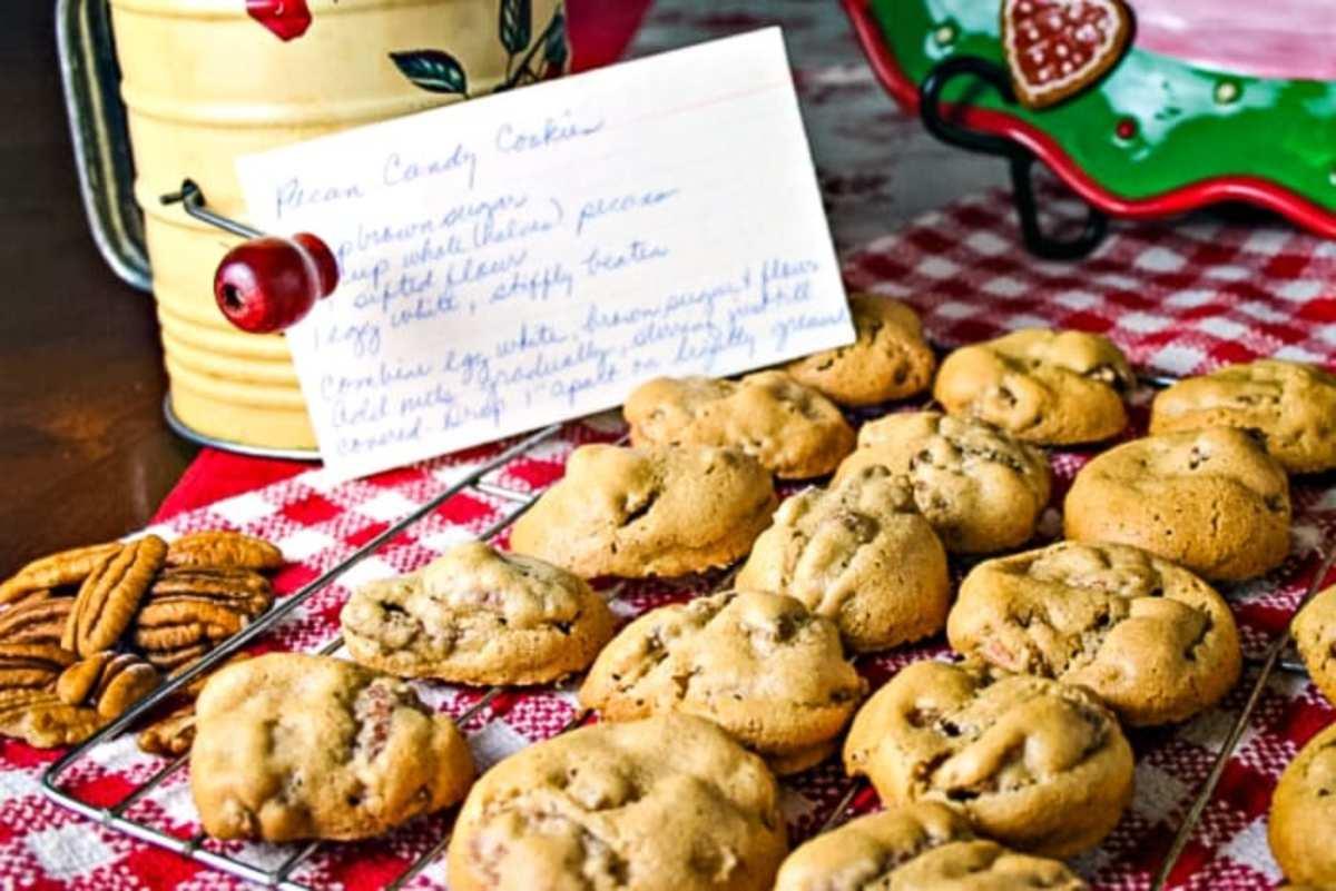 Pecan Candy Cookies recipe