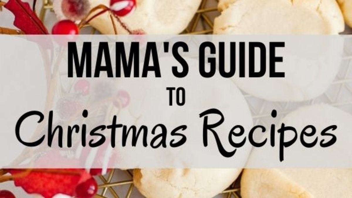 Mamas Guide To Christmas Recipes