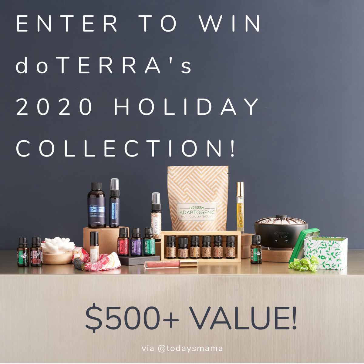 doTERRA 2020 Holiday Collection Giveaway