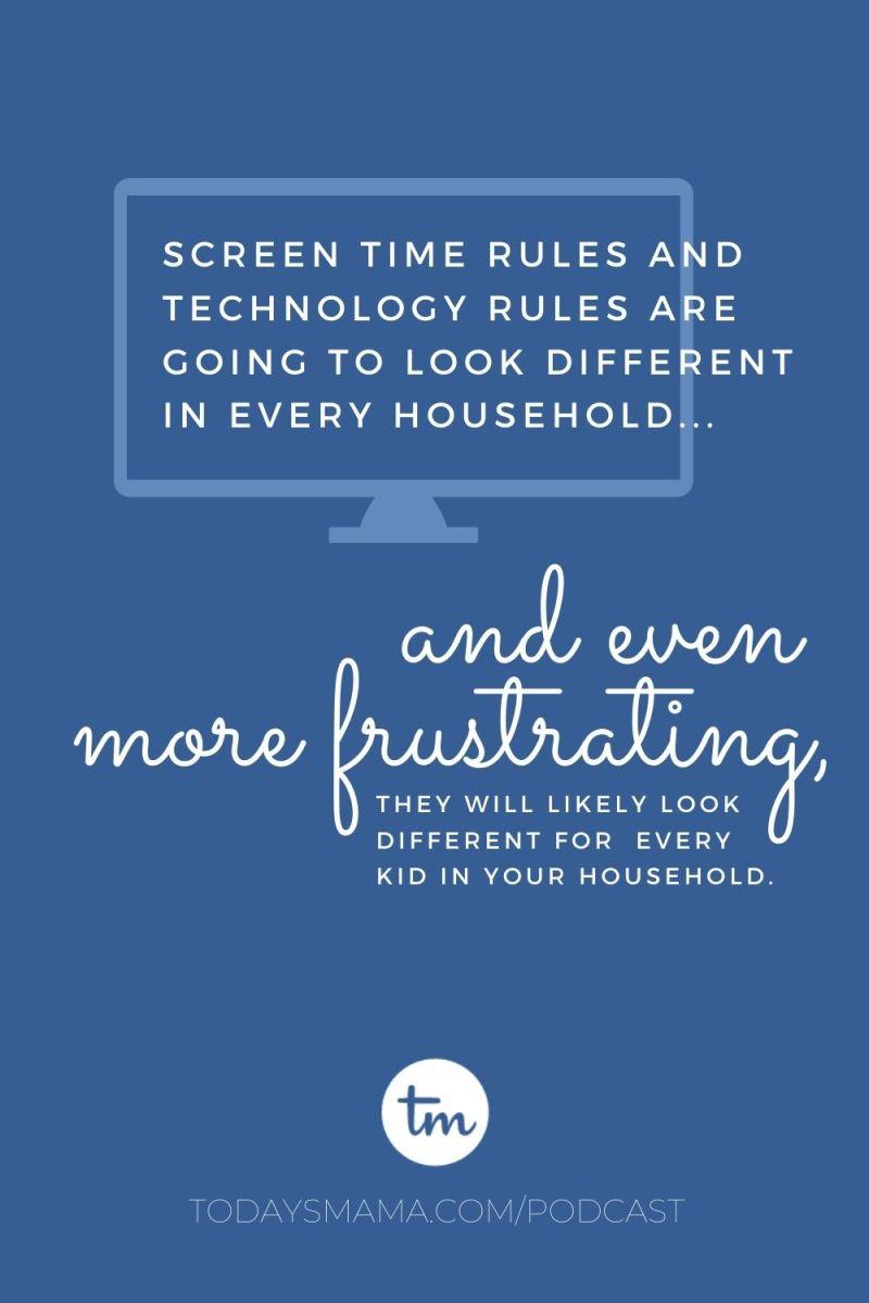 TM Screen time rules