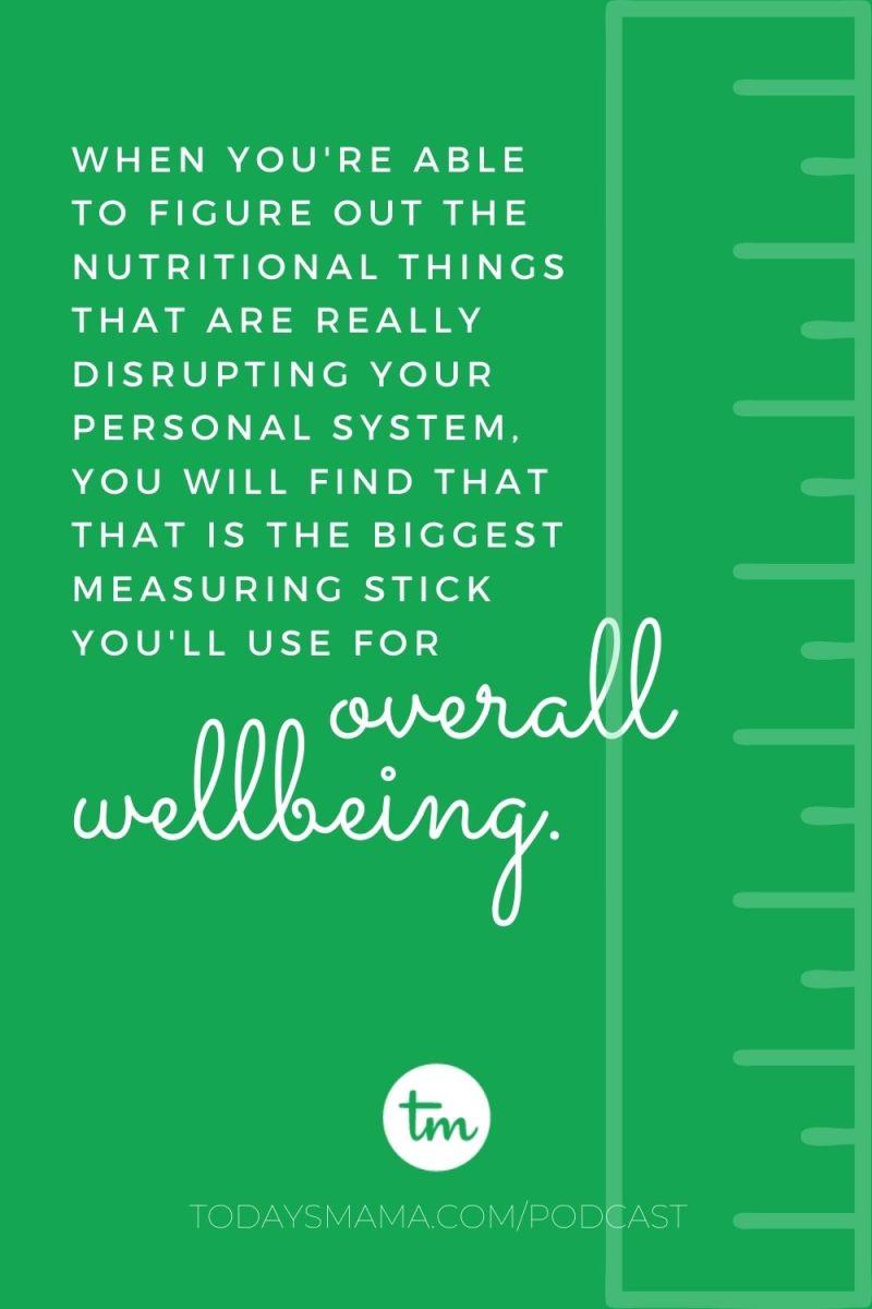 TM nutritional measuring stick