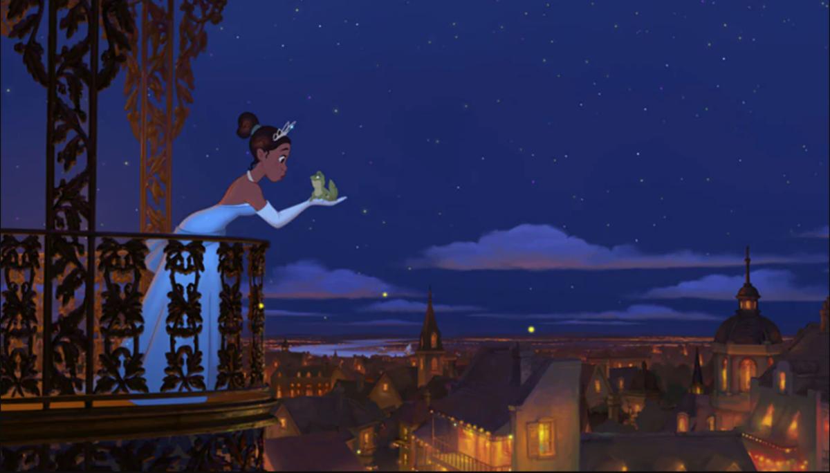 Princess and the Frog Disney Splash Mountain