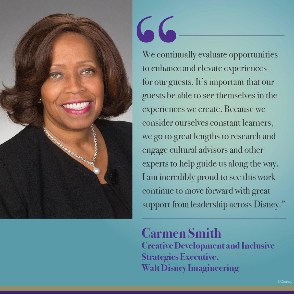 Carmen Smith Disney Imagineering