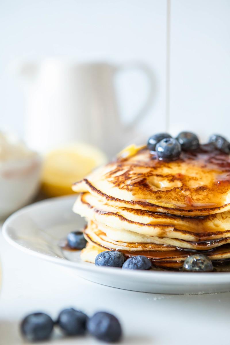 Ricotta Lemon Pancakes Recipe