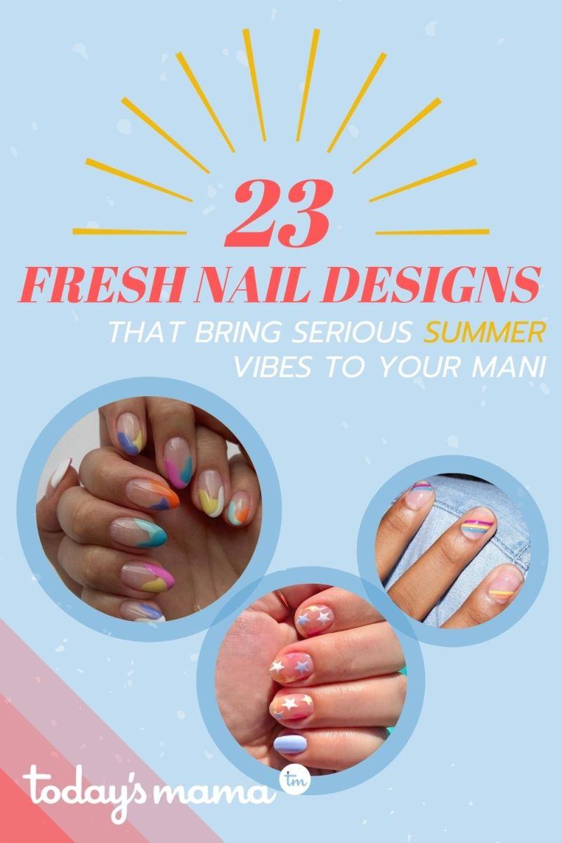 TM Summer Nail Designs