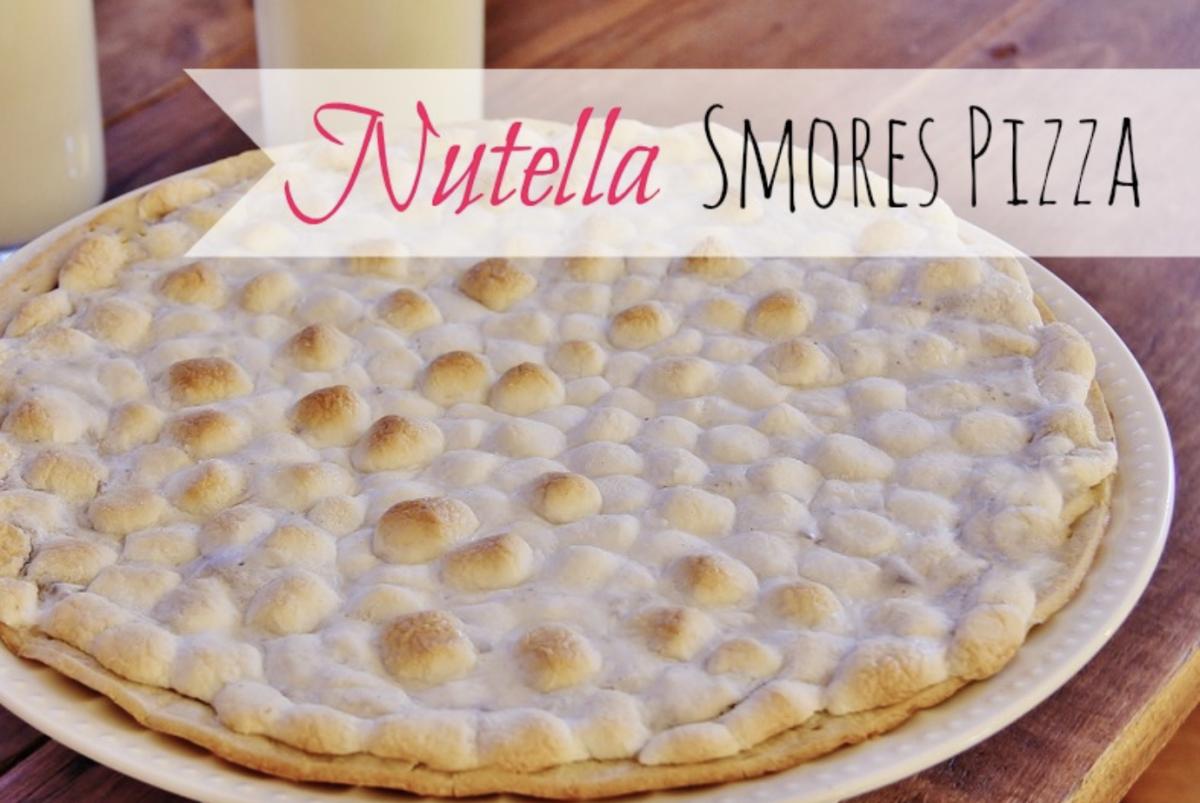 Nutella Smores Pizza